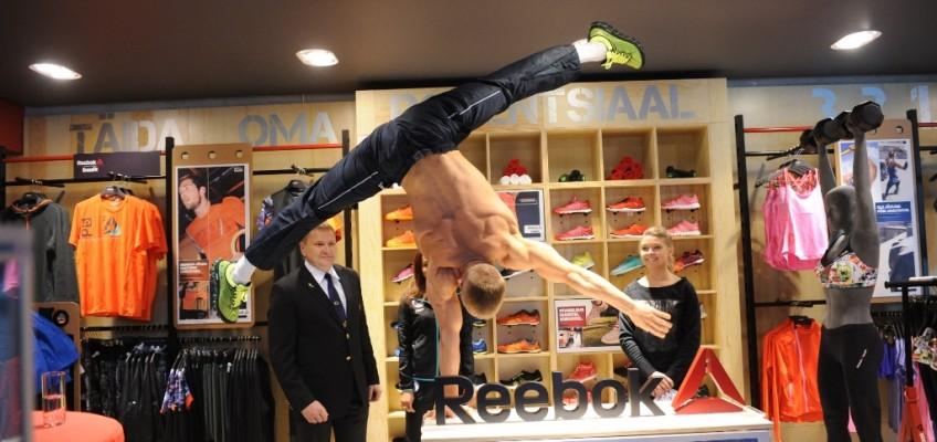 Reebok spordibutiik launch