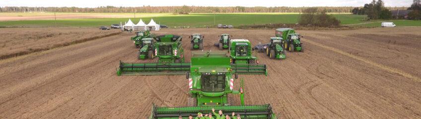 Baltic Agro Machinery kombainide demopäev