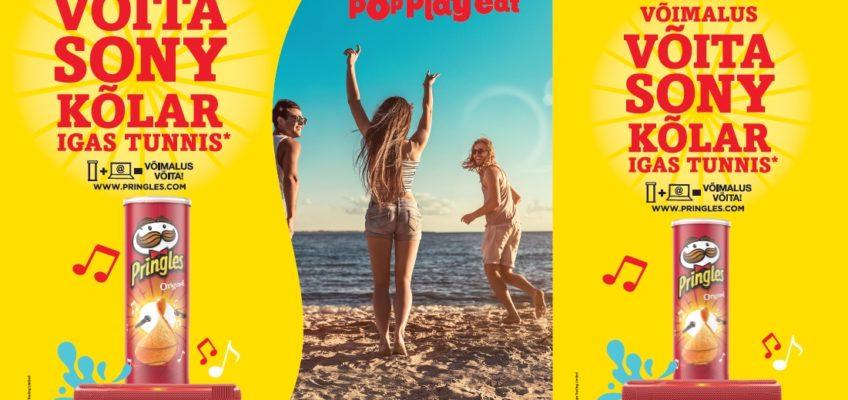 Pringles Summer 2019 kampaania