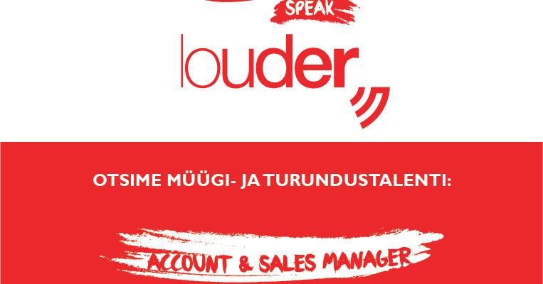 Tööpakkumine: Louder otsib müügi- ja turundustalenti!