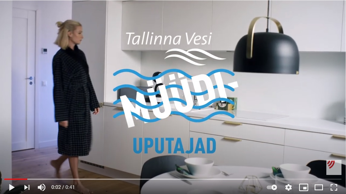 turundusagentuur Louder loodud Tallinna Vee reklaamikampaania